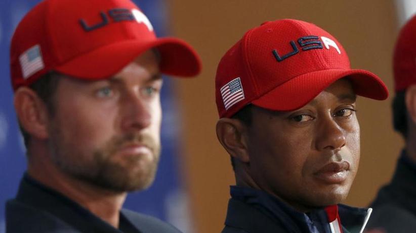 Müde Golf-Altstars: Woods und Mickelson - Ende der Ryder-Cup-Ära deutet sich an