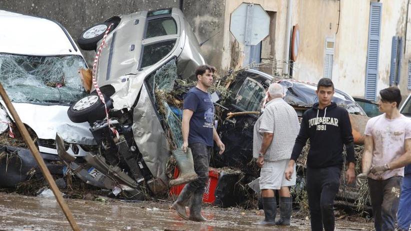 Tödliche Wassermassen: Unwetter in Südeuropa - weitere Tote auf Mallorca entdeckt