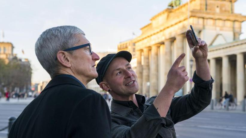 Tim Cook in Berlin: Apple-Chef: DSGVO Vorbild für globalen Datenschutz
