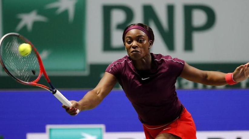 WTAFinals: Stephens gewinnterstes Match in Kerber-Gruppe