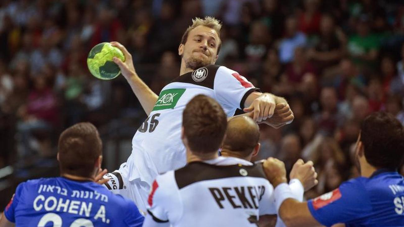 Schutzenfest Against Israel German Handball Players Start