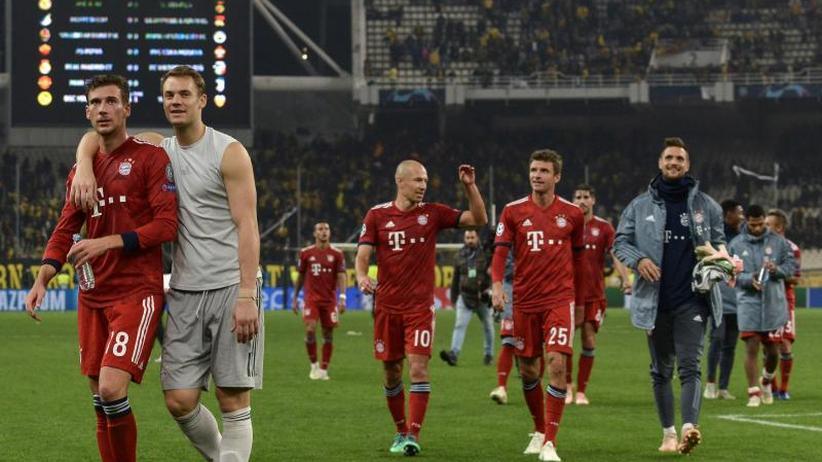 """Champions League: Erleichterte Bayern """"auf Weg der Besserung"""""""