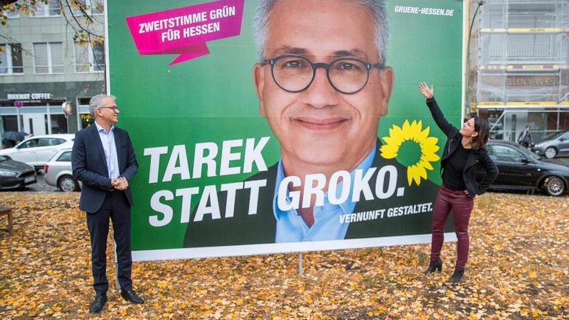 """""""Tarek statt Groko"""": Grünen schwimmen auch in Hessen auf der Erfolgswelle"""