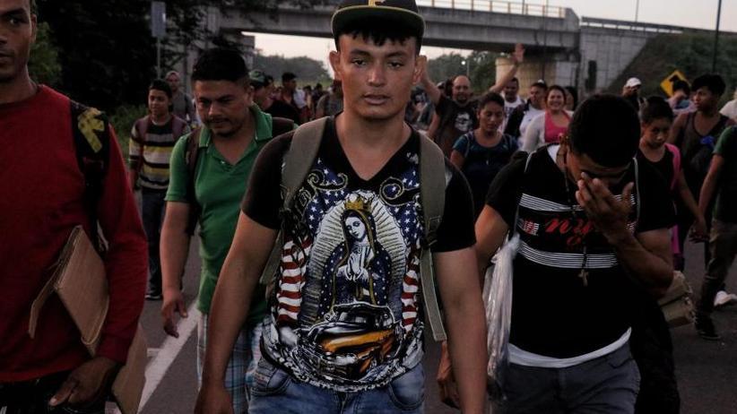 Tausende wollen zur Grenze: Pompeo: Migranten auf Weg in USA ohne Chance auf Einreise