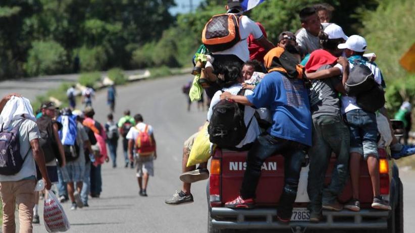 Migranten aus Mittelamerika: UNHCR fordert Asyl für Bedürftige auf Marsch Richtung USA