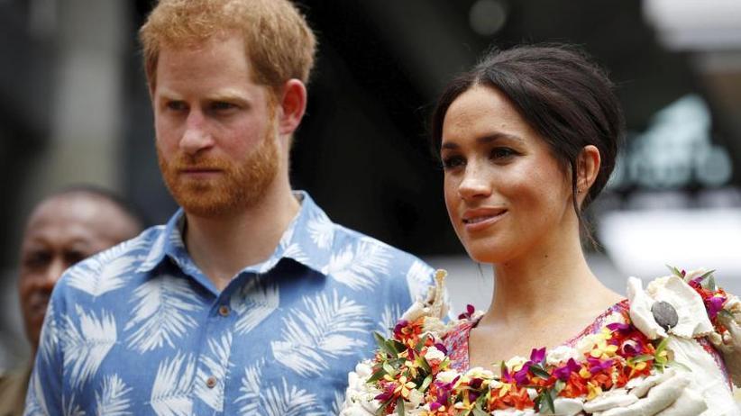 Royals on Tour: Zu viele Fans beim Marktbesuch von Herzogin Meghan