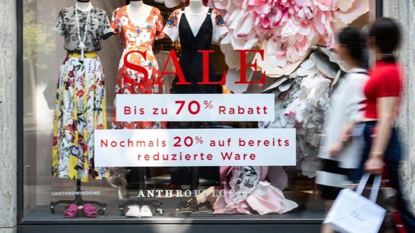 Weniger Verkaufstage: Einzelhandel:Größter Umsatzrückgang seit Juni 2013