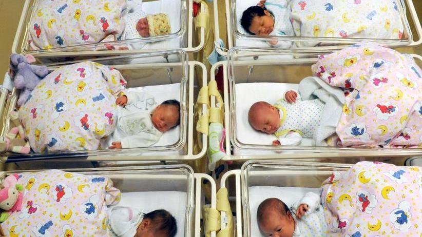 """""""Baby-Boom"""" wieder beendet: Geburtenzahl sinkt wieder in Deutschland"""