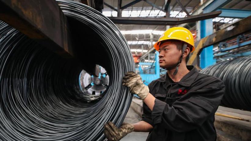 Handelsstreit: Stimmung in Chinas Industrie trübt sich weiter ein