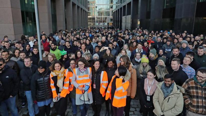 #GoogleWalkout: Google-Mitarbeiter protestieren gegen Sexismus