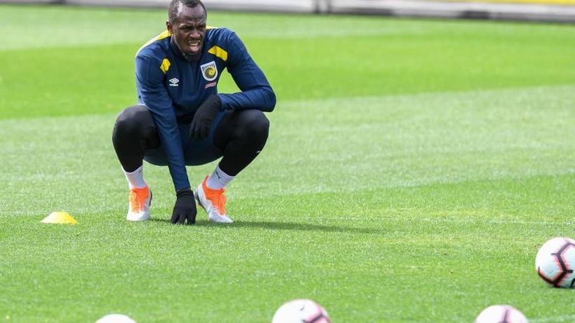 Sprint-Weltrekordler: Australischer Fußballklub und Usain Bolt trennen sich