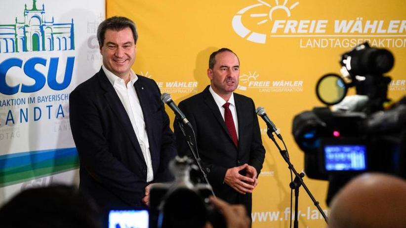 Durchbruch in München: CSU und Freie Wähler einigen sich auf Regierungsbündnis
