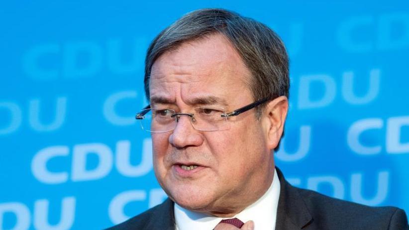 Merkel-Nachfolge: Laschet warnt vor Kurswechsel unter neuer CDU-Führung