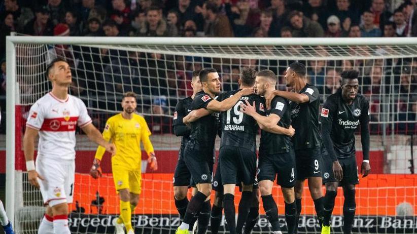 0:3 gegen Frankfurt: VfB unter Weinzierl weiter punkt- und torlos