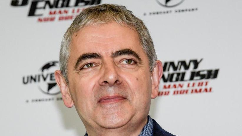 Stressig: Rowan Atkinson dreht nicht gerne Filme