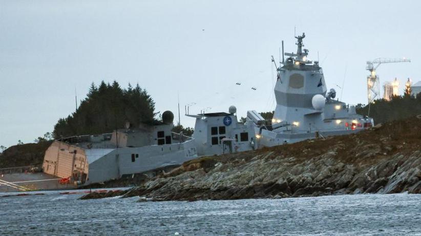 """""""Trident Juncture"""": Norwegische Fregatte kollidiert nach Nato-Manöver mit Tanker"""
