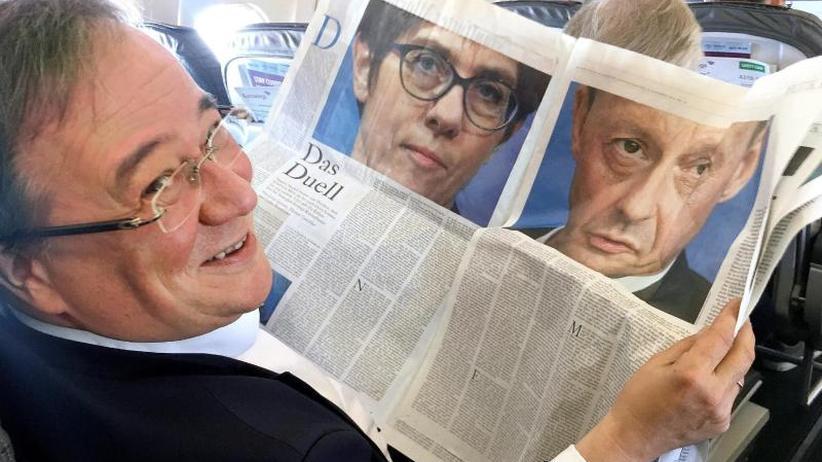 Merkel-Nachfolge: Kandidaten für CDU-Vorsitz treten erstmals gemeinsam auf