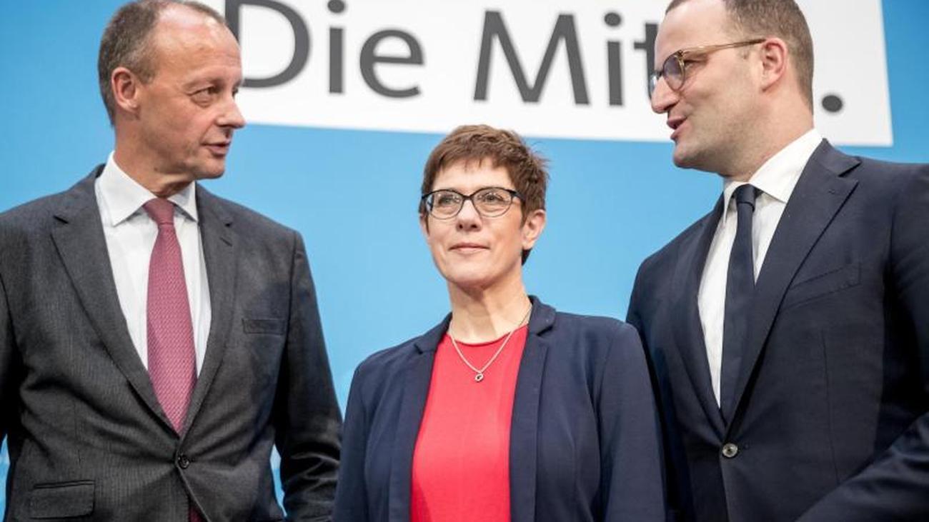 Was uns die drei CDU-Kandidaten mit ihrer Körpersprache verraten