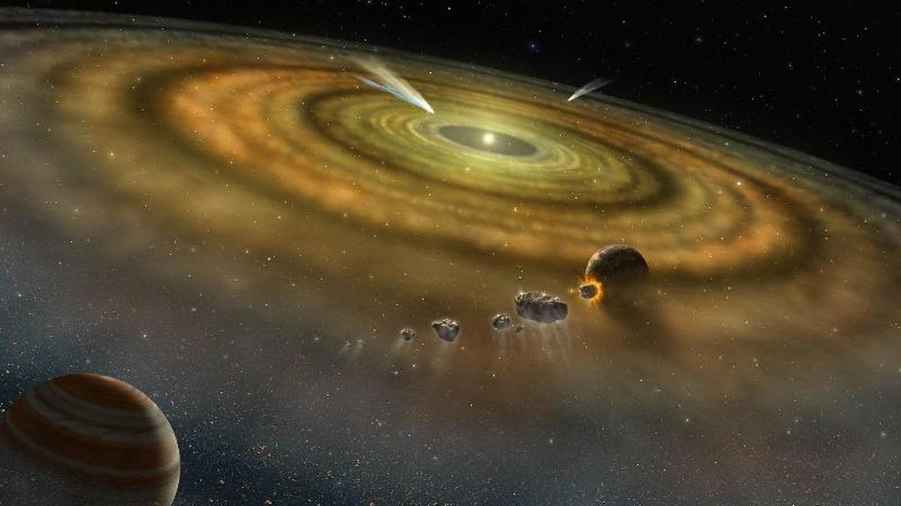 El agua en la Tierra también podría provenir de la niebla solar   TIEMPO EN LINEA