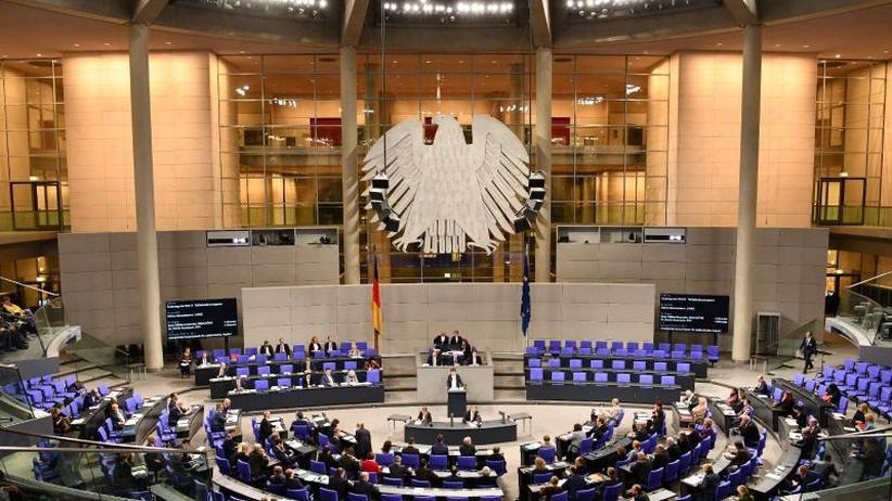 Per Gesetz: Frauenanteil im Bundestag: Grüne wollen gesetzliche Quote