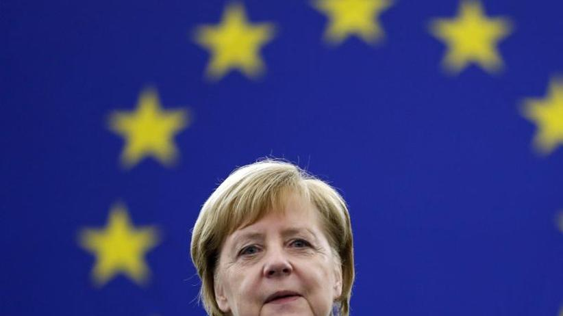 Dokumentation: Was Merkel für Europa will: Einigkeit, Solidarität, Armee