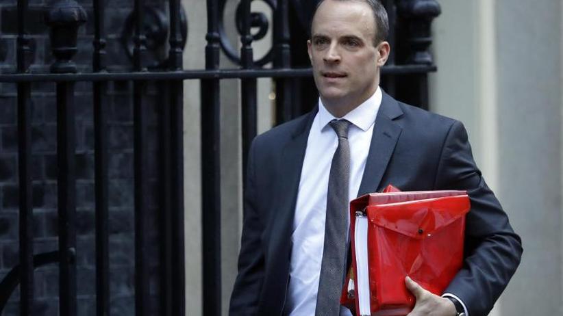 EU-Brexit-Sondergipfel: Brexit-Minister Dominic Raab zurückgetreten