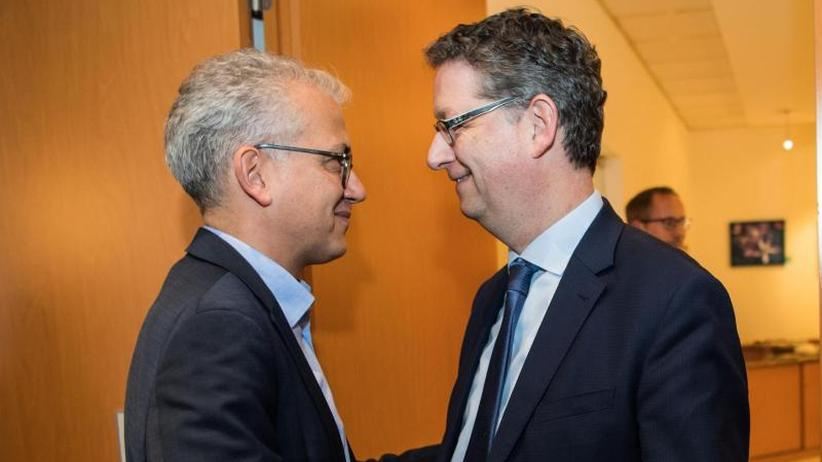Warten aufs Endergebnis: Grüne, SPD und FDP loten in Hessen mögliche Ampel aus