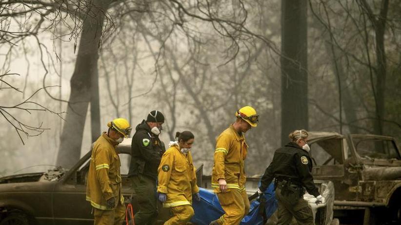 Schwieriger Wiederaufbau: Immer mehr Tote durch Brände in Kalifornien