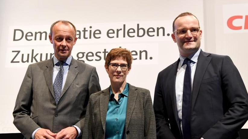CDU-Regionalkonferenz: Kandidaten für Merkel-Nachfolge beschwören Aufbruchstimmung