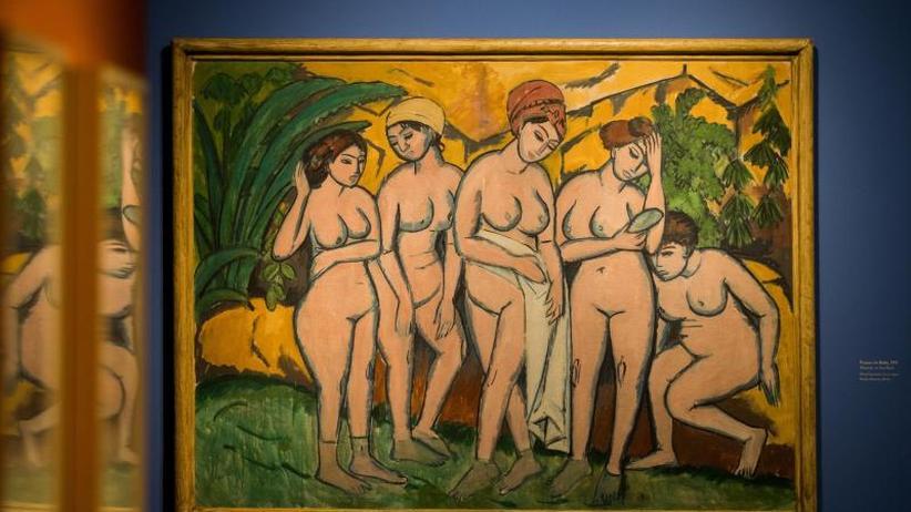 Ausstellung in Bonn: Kirchner: Schrecklich im Umgang, genial mit dem Pinsel