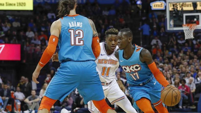 Basketball-Profiliga: NBA: Schröder überzeugt bei Oklahoma-Sieg