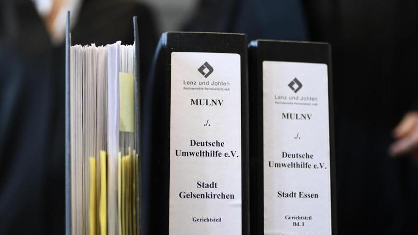 Grundlage des Rechtsstaates: Barley verteidigt Gerichte gegen Kritik an Fahrverboten