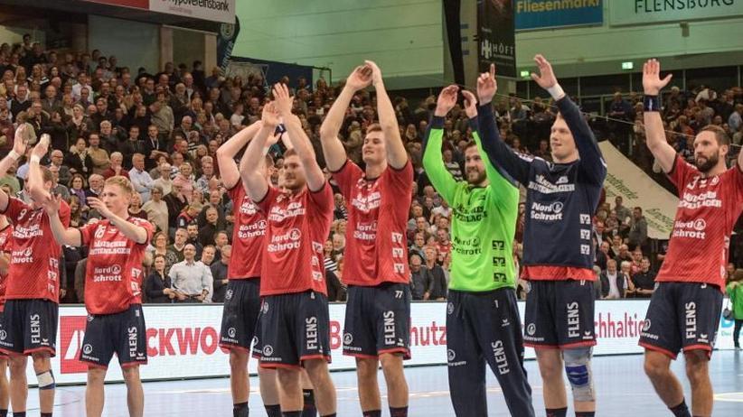 Sieg im Spitzenspiel: Flensburgs Handballer senden ein Signal an die Konkurrenz