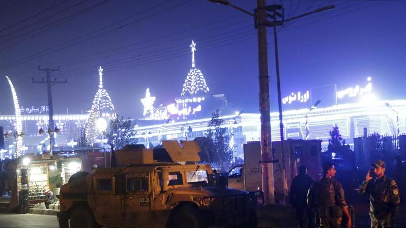 Selbstmordattentat: Mindestens 43 Tote bei schwerem Anschlag in Kabul