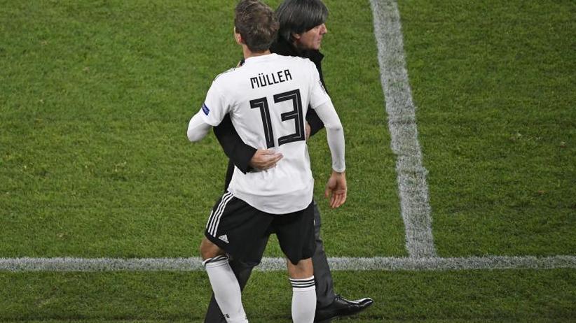 Länderspiel-Jubilar: Müller nicht in Weißbier-Laune - Löw: Nicht sein Jahr