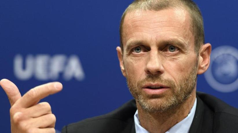 """Europäische Club-Wettbewerbe: UEFA-Präsident Ceferin: Super League ist """"Fiktion"""""""
