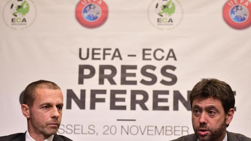 """Kritik an FIFA-Chef Infantino: UEFA-Präsident: Super League ist """"Fiktion"""""""