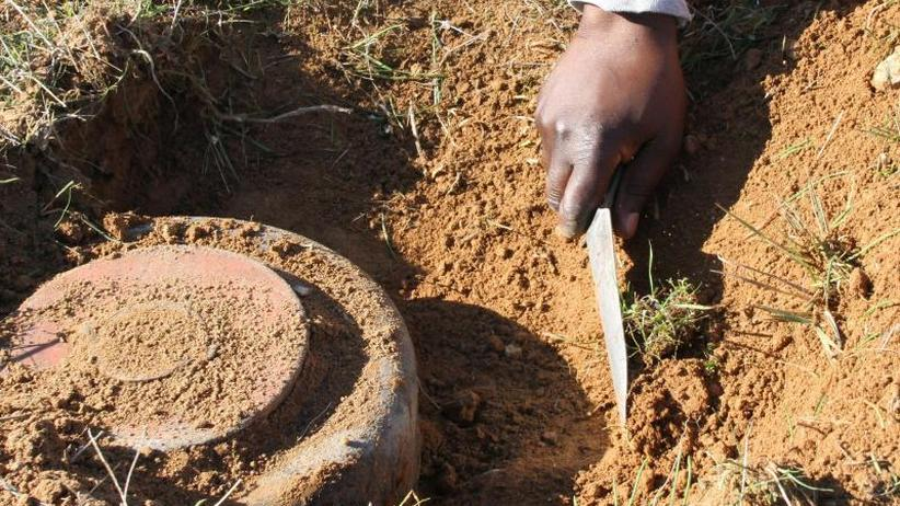 Überwiegend Zivilisten: Zahl der Toten durch Landminen deutlich angestiegen