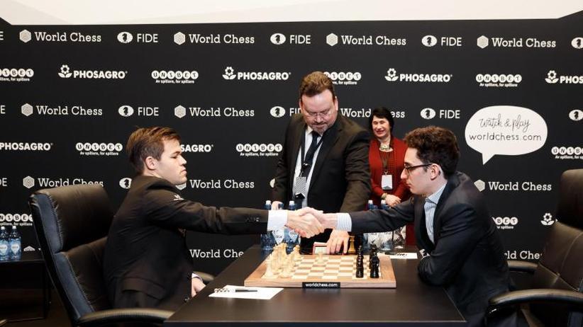 9. Partie in London: Auch neunte Partie der Schach-WM endet remis