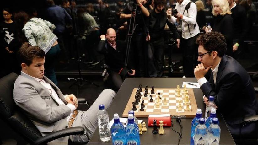 Carlsen vs. Caruana: Erneutes Remis bei Schach-WM - Entscheidung am Mittwoch