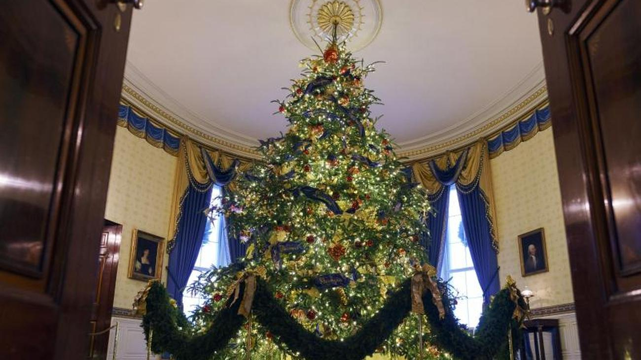 Cairo Weihnachtsdeko.Magnificence Melania Trump Unveils Christmas Decoration In The