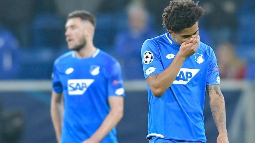 Champions League: Nagelsmann verzockt sich etwas: Hoffenheims tiefer Frust