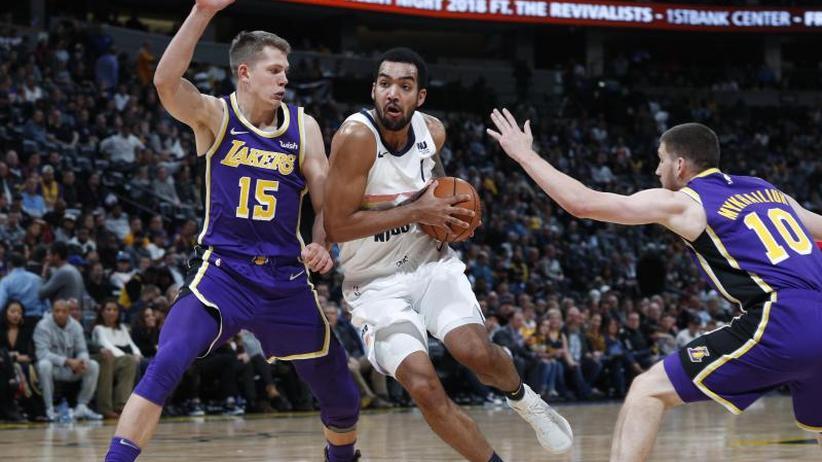 NBA: Wagner und Los Angeles verlieren mit 85:117 in Denver