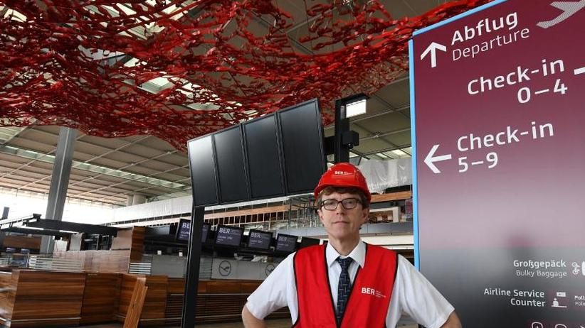 Wann wird eröffnet?: BER-Baustelle beschäftigt Kontrolleure im Aufsichtsrat
