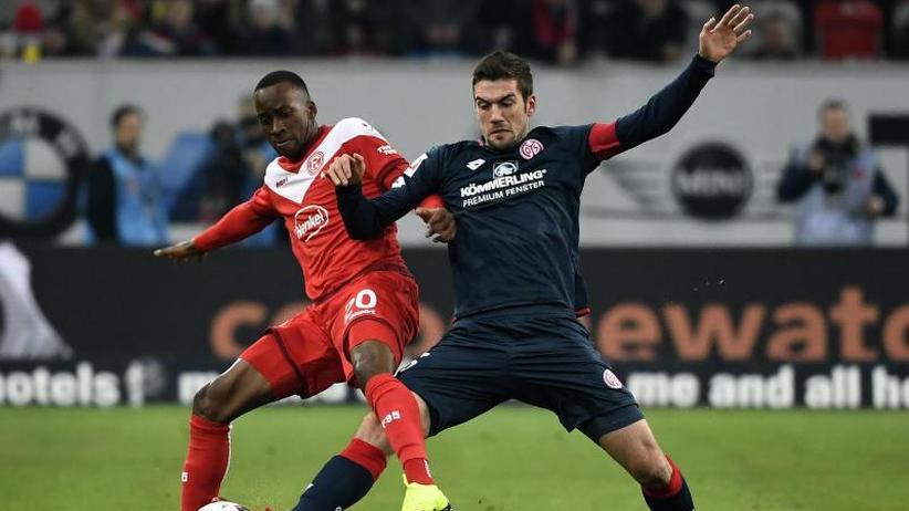 Bundesliga am Freitag: Diesmal keine Dodi-Show:Düsseldorf unterliegtMainz