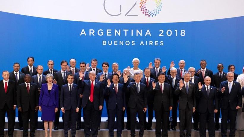 Gipfel in Argentinien: Konflikte überschatten G20-Gipfel - Merkel fehlt