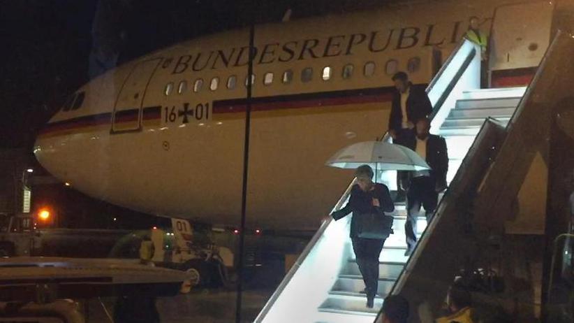 Flug zu G20 unterbrochen: Luftwaffe schließt Sabotage an Merkel-Flieger derzeit aus