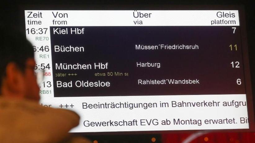 Voraussichtlich bis 9.00 Uhr: DB: Fernverkehr wegen Warnstreiks bundesweit eingestellt