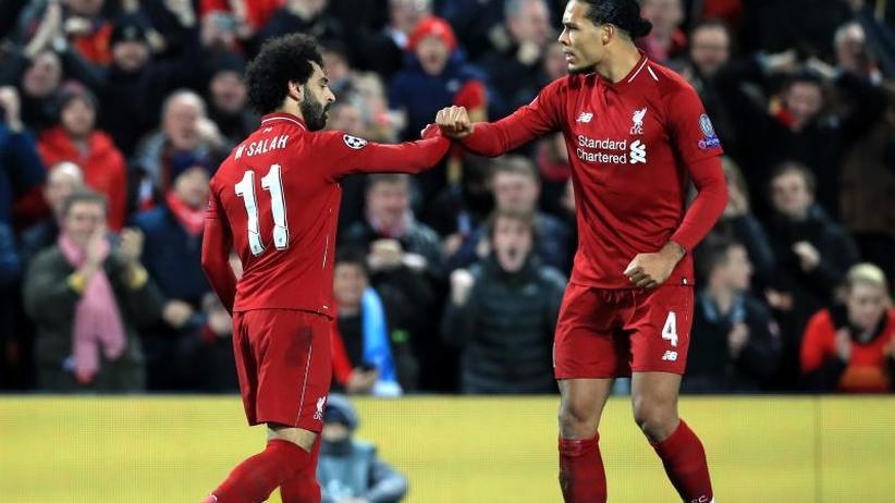 Champions League: Anfield, Salah und etwas Glück - Klopp mit Liverpool weiter