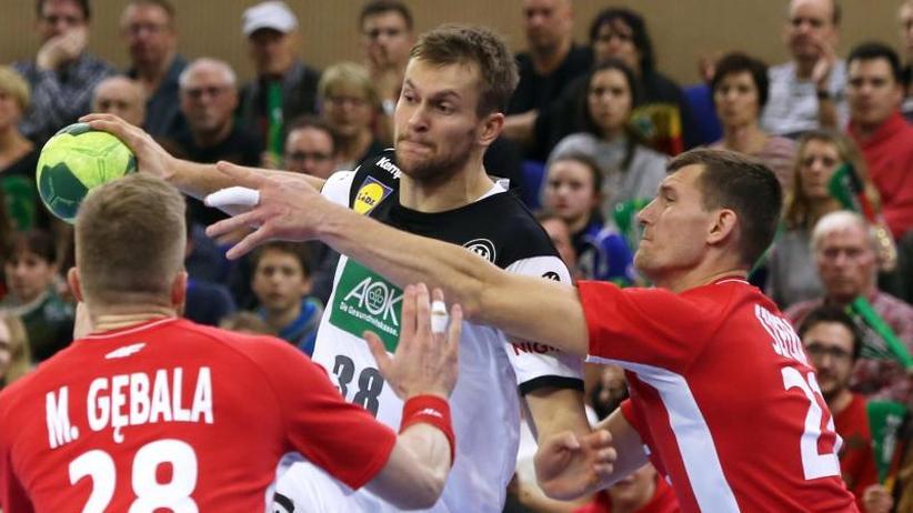 Vorbereitungsspiel: Deutsche Handballer auf WM-Kurs: Kantersieg gegen Polen
